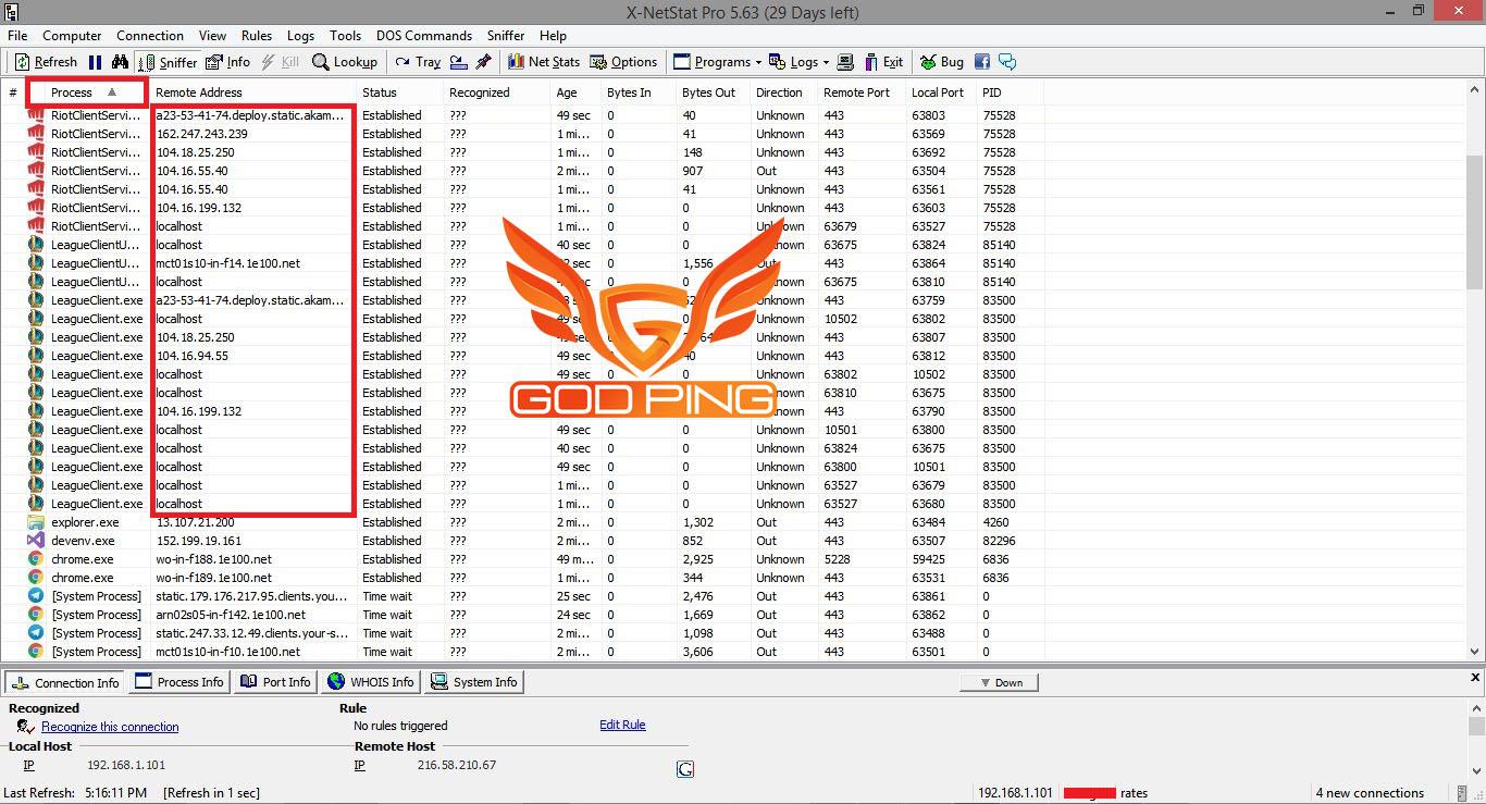 نرم افزار X-NetStat